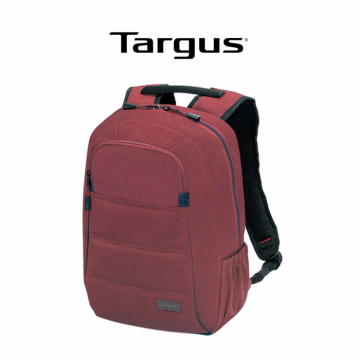 """Targus 15"""" Groove X Laptop Notebook Backpack Red (TSB82705)"""
