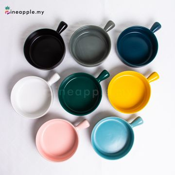 Ceramic Big Bowl with Handle