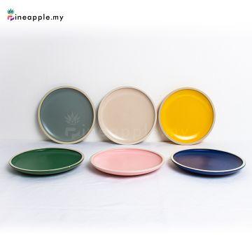 Ceramic Morandi Disc 8 inch 10 inch