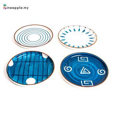 Ceramic Disc Plate 8 inch 10 inch