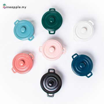 Ceramic Binaural Stew Cup
