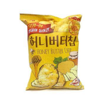 Korea Haitai Chip Cheddar - Flavour Honey Butter 60g