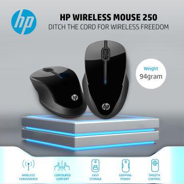 HP Wireless Mouse 250 (Black) (3FV67AA)