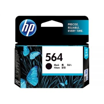 HP 564 Black Ink Cartridge (CB316WA) (Original)