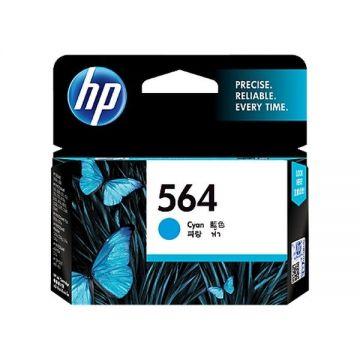 HP 564 Cyan Ink Cartridge (CB318WA) (Original)