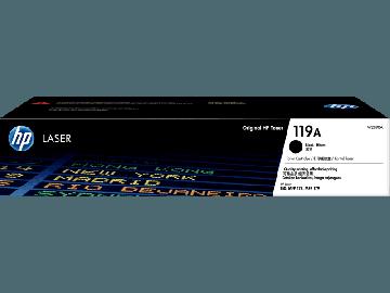 HP 119A Black Original Laser Toner Cartridge (1,000 pages) (W2090A)