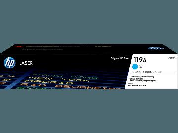 HP 119A Cyan Original Laser Toner Cartridge (700 pages) (W2091A)