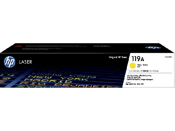 HP 119A Yellow Original Laser Toner Cartridge (700 pages) (W2092A)