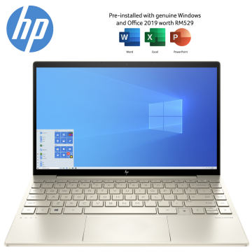 "HP Envy 13-ba0008TX i7 13.3"" Laptop / Notebook (Pale Gold)"