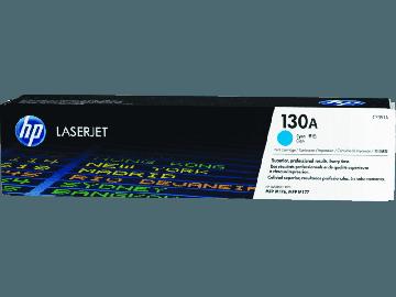 HP 130A Cyan Original LaserJet Toner Cartridge (1,000 pages) (CF351A)
