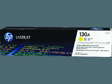 HP 130A Yellow Original LaserJet Toner Cartridge (1,000 pages) (CF352A)