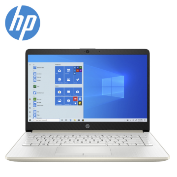 "HP 14s-cf2030TU Celeron N4020 14"" Laptop / Notebook (Pale Gold)"
