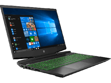 "HP Pavilion Gaming 15-dk1133TX i7-10750H 15.6"" Laptop / Notebook (Shadow Black-Acid Green)"