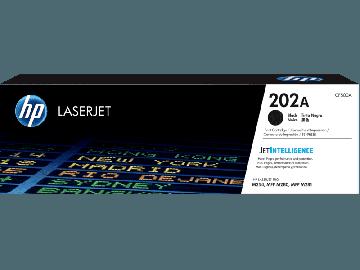 HP 202A Black Original LaserJet Toner Cartridge (1,400 pages) (CF500A)