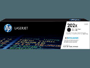 HP 202X high Yield Black Original LaserJet Toner Cartridge (3,200 pages) (CF500X)