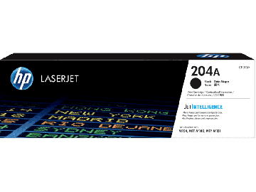 HP 204A Black Original LaserJet Toner Cartridge (1,100 pages) (CF510A)