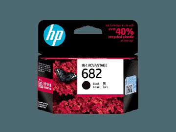HP 682 Black Original Ink Advantage Cartridge (480 pages) (3YM77AA) (HP682)