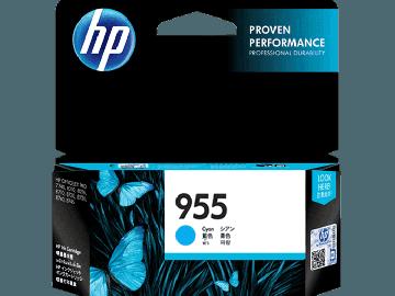 HP 955 Cyan Original Ink Cartridge (700 pages) (L0S51AA) (HP955)