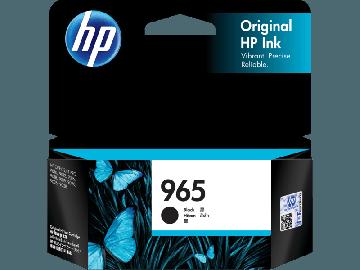 HP 965 Black Original Ink Cartridge (1,000 pages) (3JA80AA) (HP965)