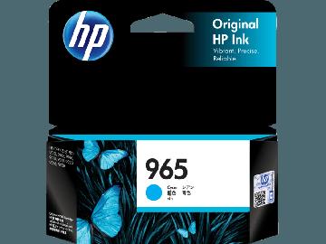 HP 965 Cyan Original Ink Cartridge (700 pages) (3JA77AA) (HP965)