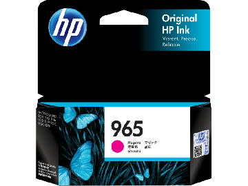 HP 965 Magenta Original Ink Cartridge (700 pages) (3JA78AA) (HP965)