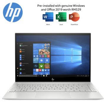 "HP Envy 13-aq1068TX i5-10210U 13.3"" Laptop / Notebook (Silver)"