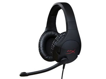 HyperX Cloud Stinger Gaming Headset for PC, Xbox One, PS4, Wii U (HX-HSCS-BK/AS)