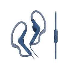 SONY (MDR-AS210AP BLUE) SPLASHPROOF EARPHONE