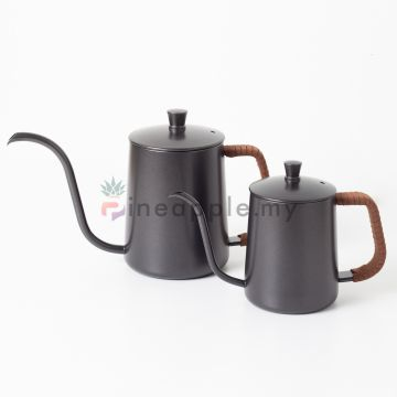 MOJAE Pour Over Kettle with Leather for Drip Coffee