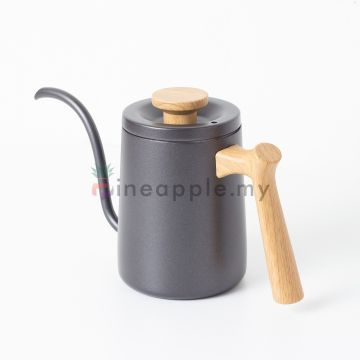 MOJAE (MJ0A18) Coffee Pour Over Kettle Wood Grain Handle 600ml