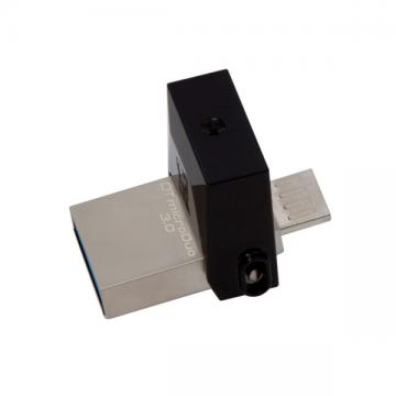 KINGSTON Data Traveler MicroDuo 3 32GB OTG Flash Drive (DTDUO3/32GB)