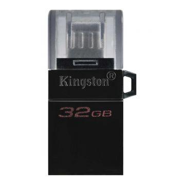 KINGSTON DataTraveler microDuo 3.0 G2 32GB OTG Flash Drive (DTDUO3G2/32GB)