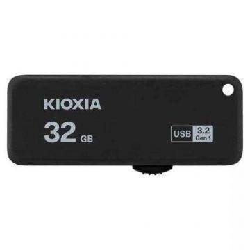 KIOXIA TransMemory U365 32GB USB3.2 Gen1 R150 Flash Drive (LU365K032GG4) (Black)