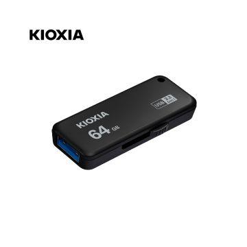 KIOXIA Transmemory U365 64GB USB3.2 Gen1 R150 Flash Drive (LU365K064GG4) (Black)