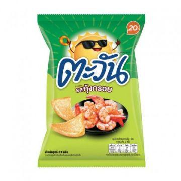 Thailand Lay's Tawan Tapioca Chip- Flavour Crispy Prawn 62g