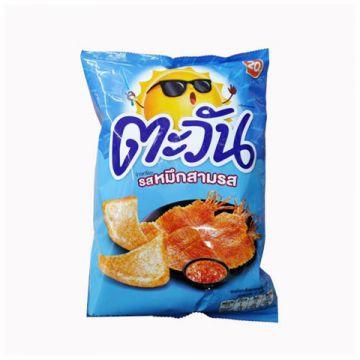 Thailand Lay's Tawan Tapioca Chip - Flavour Sweet & Sour Squid 62g