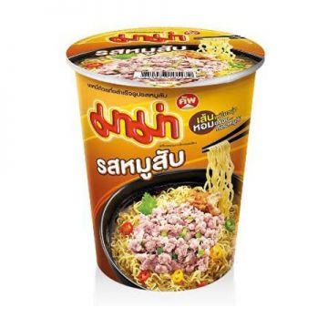 Thailand Mama Instant Cup Noodles -Flavour Minced Pork 60g