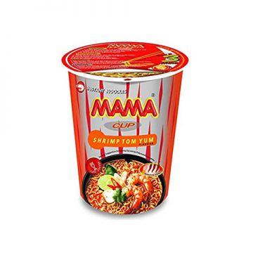 Thailand Mama Instant Cup Noodles - Flavour Shrimp Tom Yum 60g