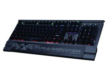 Armaggeddon MKA-9C Mechanical Gaming Keyboard with Multi Colour Backlight Effect