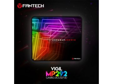 Fantech MP292 Gaming Mousepad VIGIL SPEED-TYPE for Professional Gamers Stitching Edges Smooth Surface