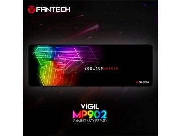 Fantech MP902 Gaming Mousepad VIGIL SPEED-TYPE for Professional Gamers Stitching Edges Smooth Surface