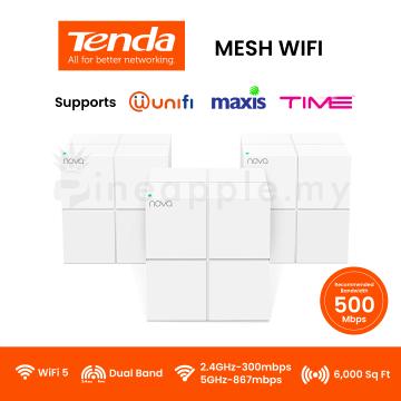 TENDA Nova MW6 Whole Home Mesh Wifi System (3-Pack)