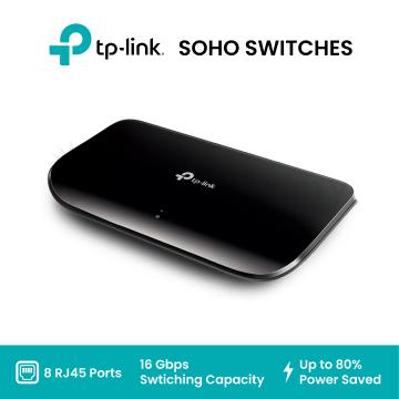 TP-Link TL-SG1008D 8-Port Gigabit Desktop Switch