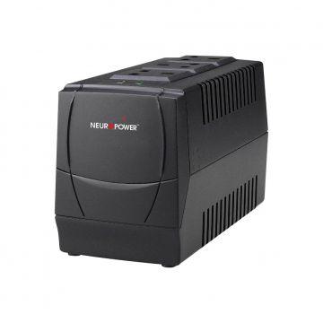 NEUROPOWER AVS1000-3UK 1000VA Automatic Voltage Stabilizer (AVR)