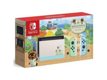 Nintendo Switch Animal Crossing Limited Edition Console (1 Year Warranty) - MaxSoft Set Asia (FOC 2 RANDOM GAMES)