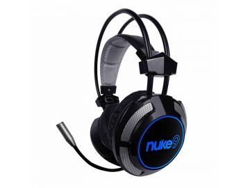 Armaggeddon Nuke 9 (7.1 Surround) Gaming Headphones with Mic For PC and Laptops with 7 colour Lighting