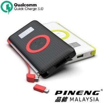 PINENG PN-888 10000mAH Qualcomm 3.0+PD Quick Charge Wireless Charging Powerbank (Genuine)