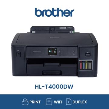 BROTHER HL-T4000DW Duplex Wifi A3 Refill Tank System Printer