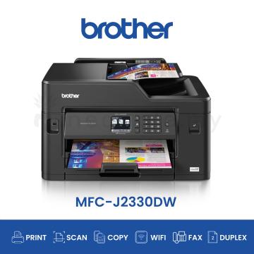 BROTHER MFC-J2330DW AIO Fax Duplex Wifi A3 Inkjet Printer