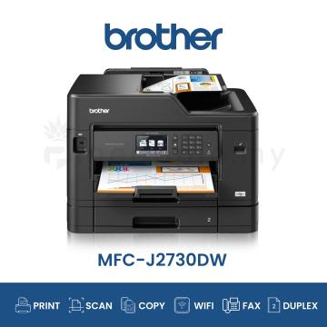 BROTHER MFC-J2730DW AIO Fax Duplex Wifi A3 Inkjet Printer